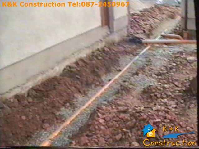 sSewer Pipe Replacements Cork with K&K Construction Tel:087-2450967